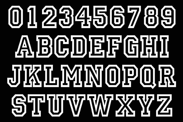 bgconcepts.com - Custom Names and Team Numbers