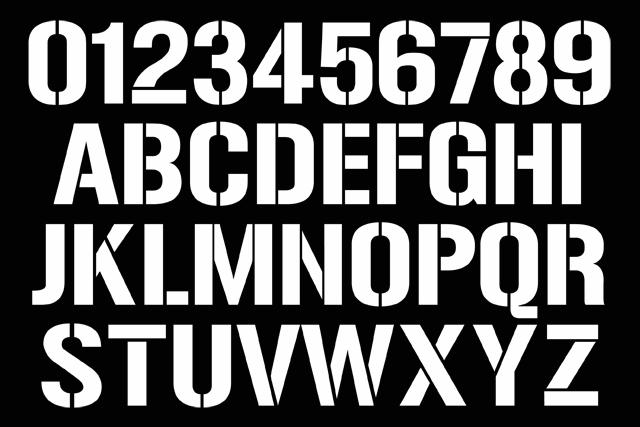 names numbers standard names numbers stencil 01 names numbers stencil 02 font